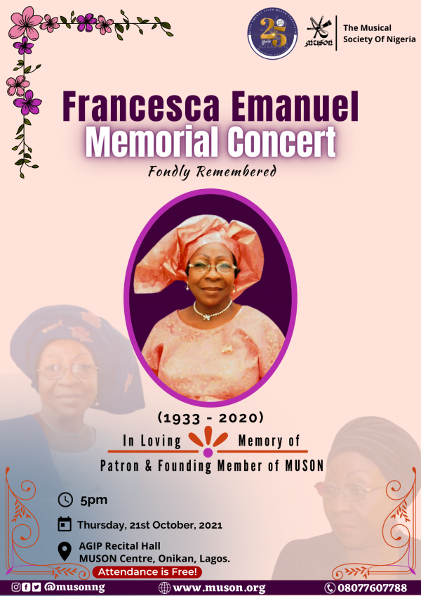MUSON Festival Francesca Emanuel (1)